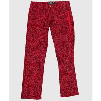 pantaloni femei COL LECTIF - roșu, NNM