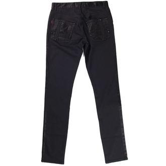 pantaloni REGINĂ DE ÎNTUNERIC - Negru, QUEEN OF DARKNESS