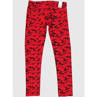 pantaloni femei PENAL DETERIORA - roșu, NNM