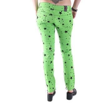 pantaloni femei 3RDAND56th - Lămâie verde, 3RDAND56th