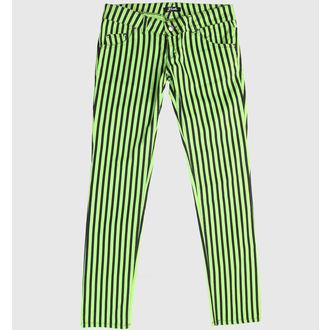 pantaloni femei Verde / Negru