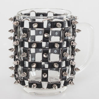 Bere Sticlă 0,5 L SPIKES, Leather & Steel Fashion