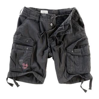 pantaloni scurți bărbați SURPLUS - airborne Epocă - Negru, SURPLUS