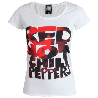 tricou stil metal femei Red Hot Chili Peppers - Type Face Fill - AMPLIFIED, AMPLIFIED, Red Hot Chili Peppers