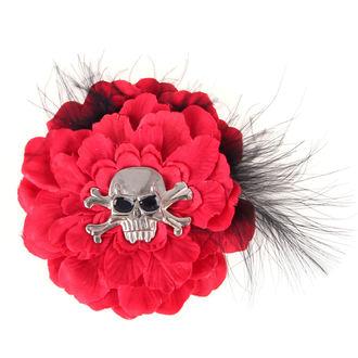 Clemă de păr Red Skull
