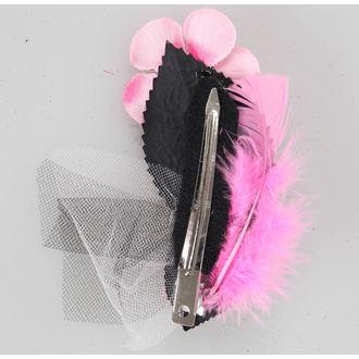 clip de păr Roz Schelet