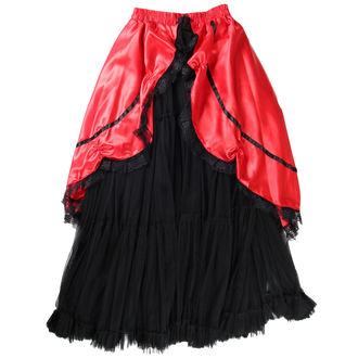 fustă femei Buvs - Negru / Roșu, NNM