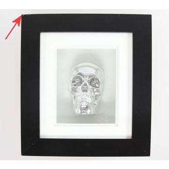 imagine Argint Craniu În Cadru - DETERIORATĂ