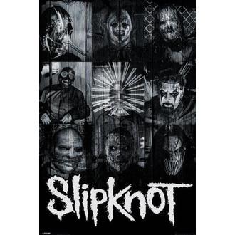 poster slipknot - măşti - PYRAMID POSTERS, PYRAMID POSTERS, Slipknot