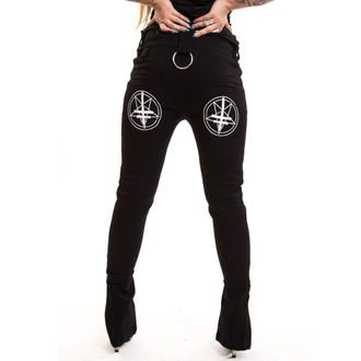 pantaloni femei POIZEN INDUSTRIES - Ocult, HEARTLESS