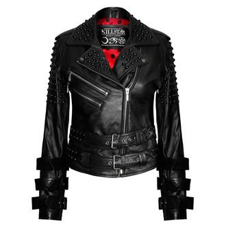geacă de piele femei - Buckled Leather - KILLSTAR, KILLSTAR