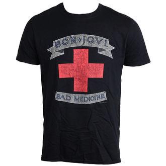tricou stil metal bărbați Bon Jovi - Bad Medicine - LIVE NATION, LIVE NATION, Bon Jovi