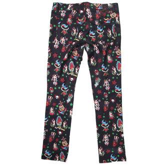 pantaloni femei IAD BUNNY - Negru, HELL BUNNY