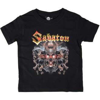 tricou stil metal copii Sabaton - Metalizer - Metal-Kids, Metal-Kids, Sabaton