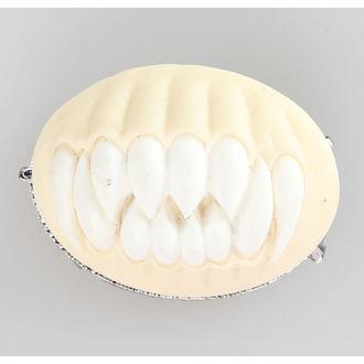 Broşă restyle - DINȚI - alb, RESTYLE