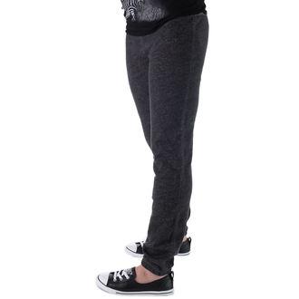 pantaloni femei (trackpants) CONVERSE - awk GF miez La care se adauga Subţire - GRI / BLK, CONVERSE