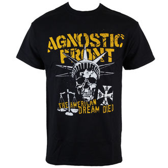 tricou stil metal bărbați Agnostic Front - Liberty Skull - RAGEWEAR, RAGEWEAR, Agnostic Front