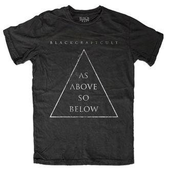tricou bărbați - As Above So Below - BLACK CRAFT - MT109AW