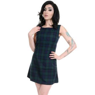 rochie femei 3RDAND56th - 60s retro - bleumarin / Verde, 3RDAND56th