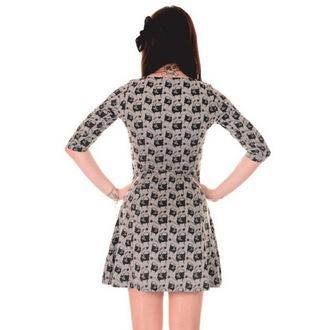 rochie femei 3RDAND56th - Mops Față - Verde / melange, 3RDAND56th