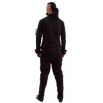 cămaşă bărbați NECESAR RĂU - Mephisto - Negru, NECESSARY EVIL