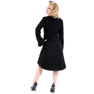 haină femei primăvară toamnă INIMI ȘI ROSES - Reîncarnare Negru, HEARTS AND ROSES