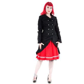 haină femei primăvară toamnă INIMI ȘI ROSES - Negru Sassiness, HEARTS AND ROSES