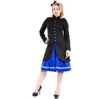 haină femei primăvară toamnă INIMI ȘI ROSES - Negru Militar Cyber rave, HEARTS AND ROSES
