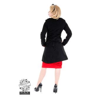 haină femei primăvară toamnă INIMI ȘI ROSES - Militar Cyber rave Lână - 0929