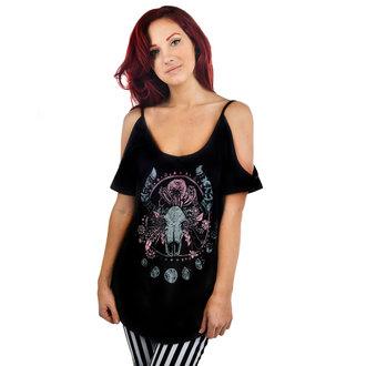 tricou stil gotic și punk femei - Cosmic Cow - TOO FAST, TOO FAST