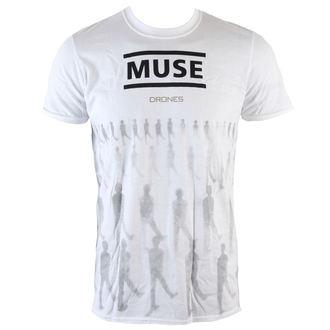 tricou stil metal bărbați Muse - Drones - LIVE NATION, LIVE NATION, Muse