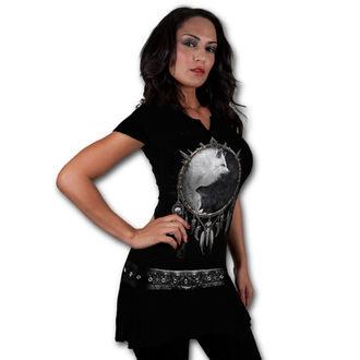 rochie femei SPIRALĂ - Lup chi - Negru, SPIRAL
