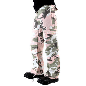 pantaloni femei Rothco - WMNS Epocă Paraşutist - sub PNK camo, ROTHCO