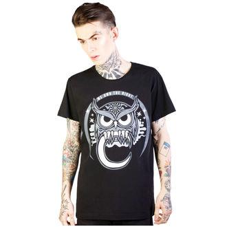 tricou hardcore bărbați - Owl - DISTURBIA, DISTURBIA