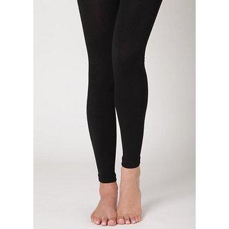 pantaloni femei iarnă (termic colanți) - Mătăsos - Negru, LEGWEAR