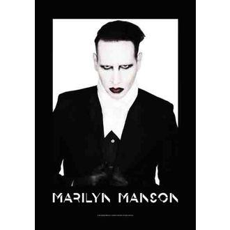 Steag Marilyn Manson - Proper, HEART ROCK, Marilyn Manson