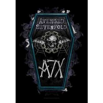 steag Avenged Sevenfold - Sicriu, HEART ROCK, Avenged Sevenfold