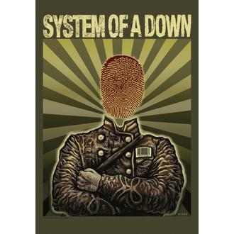 steag Sistem De A Jos - Soldat, HEART ROCK, System of a Down