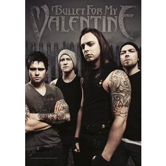 steag Bullet For my Valentine - Fotografie de formație, HEART ROCK, Bullet For my Valentine