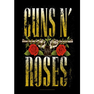 Steag pistoale N'Roses - Big Guns, HEART ROCK, Guns N' Roses