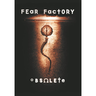 steag Frică Fabrică - scos din uz, HEART ROCK, Fear Factory