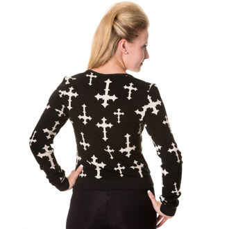 pulover femei BANNED - Negru, BANNED