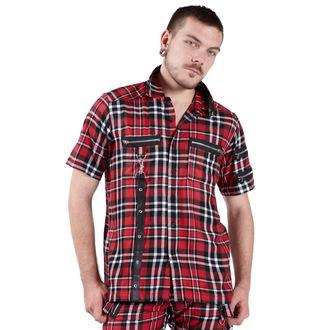 cămaşă bărbați DEAD Threads - roșu / Negru / alb, DEAD THREADS