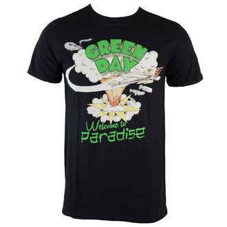 tricou stil metal bărbați Green Day - Welcome To Paradise - ROCK OFF, ROCK OFF, Green Day