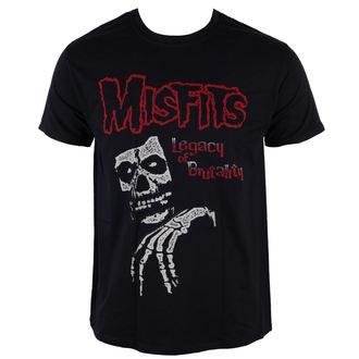 tricou stil metal bărbați Misfits - Legacy Of Brutality - LIVE NATION, LIVE NATION, Misfits