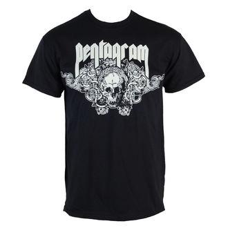 tricou stil metal bărbați Pentagram - Skull - RAZAMATAZ, RAZAMATAZ, Pentagram