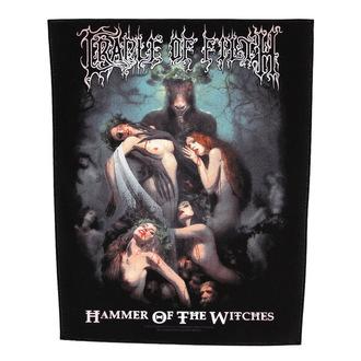 Petic mare Cradle of Filth - Hammer Of The Witches - RAZAMATAZ, RAZAMATAZ, Cradle of Filth