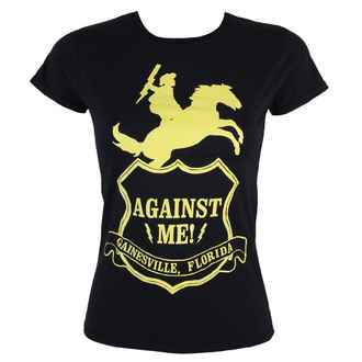 tricou stil metal femei Against Me! - Against Me -Shield - KINGS ROAD, KINGS ROAD, Against Me!