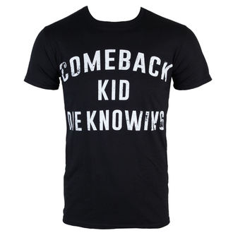 tricou stil metal bărbați Comeback Kid - Die Knowing - KINGS ROAD, KINGS ROAD, Comeback Kid