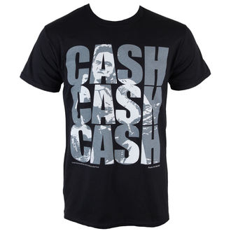 tricou stil metal bărbați Johnny Cash - Cash Cash Cash - PLASTIC HEAD, PLASTIC HEAD, Johnny Cash